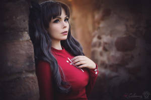 Fate Stay Night - Rin Tohsaka III by Calssara