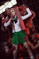 Highschool of the Dead - Saya Takagi V by Calssara