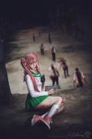 Highschool of the Dead - Saya Takagi VI by Calssara