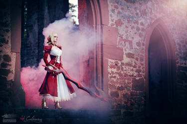 Saber Nero - Fate/Extra by Calssara