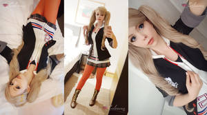 Persona 5 - Ann Takamaki selfies by Calssara
