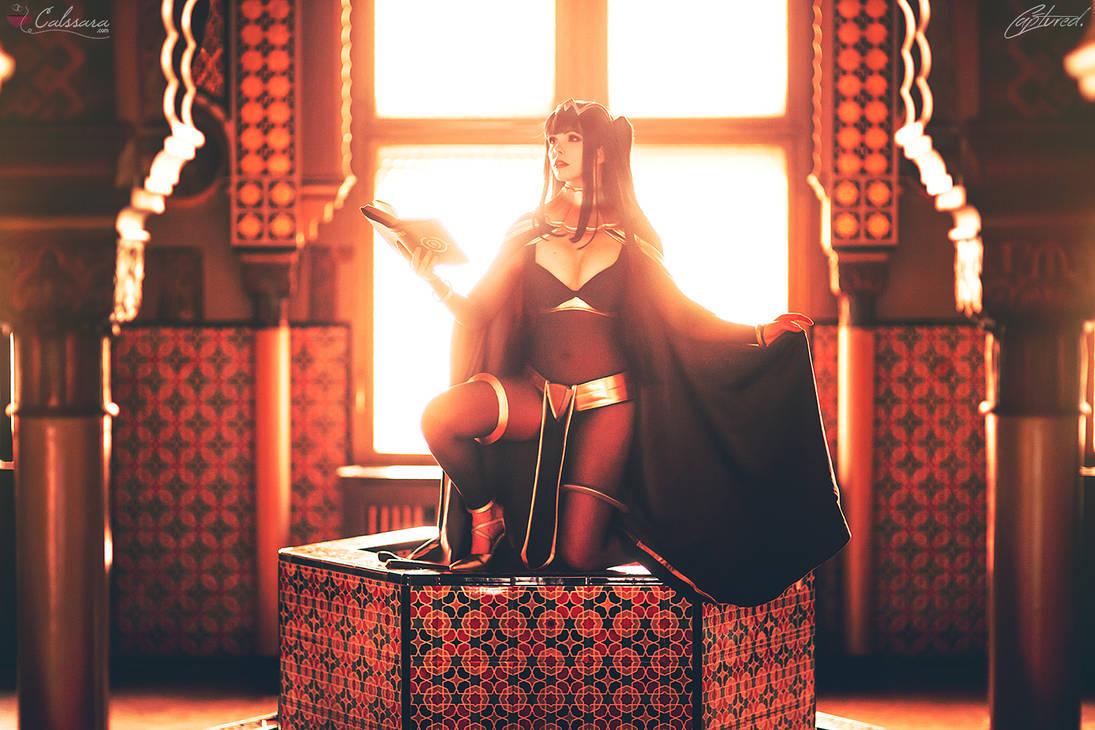 Fire Emblem Awakening: Tharja cosplay by Calssara