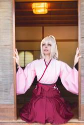 Fate Grand Order - Okita Souji Saber Sakura II by Calssara