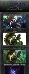 Panda signature tutorial by MizoreSYO