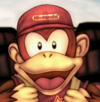 Diddy Kong by Atlasfield