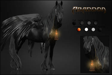 Abaddon Ref-sheet by VIP-EquineArt