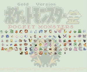 Pokemon Gold Beta 1997 by NitrusBrio68