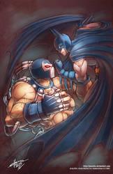 Batman vs Bane by jesonite