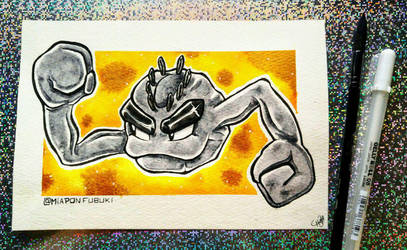 .:Alolan Geodude:. (Available to purchase!) by Miapon
