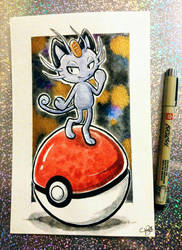 Alolan Meowth (Available to Purchase) by Miapon
