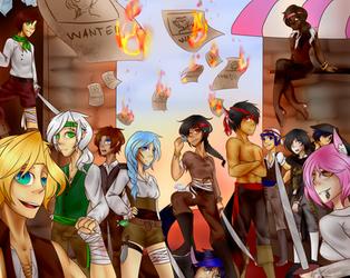 [July contest] pirates by yaoigirls379