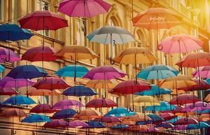 Poem of umbrellas by Piroshki-Photography