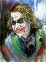 The Joker Is Wild by astarvinartist