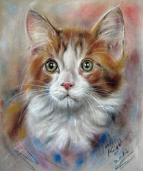 Le Gingembre Petit Chaton by astarvinartist