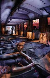 Midnight train by Vlad-Off-kru