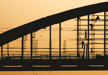 remont - Reconstruction of Old Sava Bridge by Vlad by Vlad-Off-kru