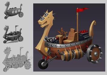 Viking Racing Kart by Rockenstein96