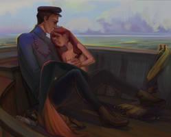 Mermaid Neraida Pappous (commission) by Minimimaniac