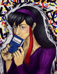 Self-Portrait of my Alter Ego by midori-no-ink