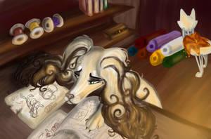 -Multitasking- by Liviatar