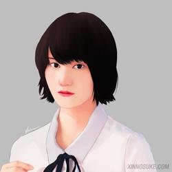 Ai Hashimoto by Xinnosuke