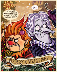 A Very Miser Christmas by NightmareHound