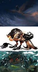 Dracostryx: Dum III by NightmareHound