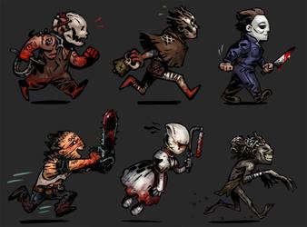 DbD: Killer Squad by NightmareHound