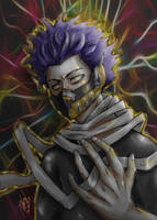 Shinso my hero academia by Rageandlove21