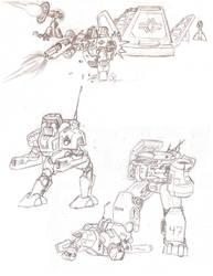 Total Annihilation sketchdump by Zanslev