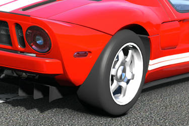 Ford GT close-up by FALG31