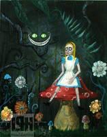 Alice in Wonderland by maddartist83