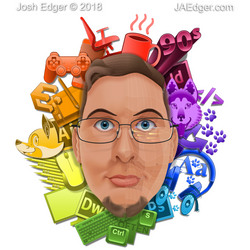 All-Vector [Stylized Ver.] Self-Portrait by JAEdger