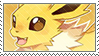 Jolteon stamp by DestinysGrace