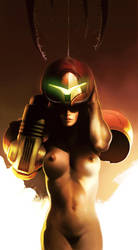 Metroid by bumhand