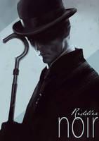 Batman Noir- The Riddler by bumhand