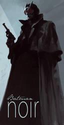 Batman Noir- Batman by bumhand
