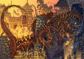 original dragon by arf