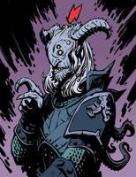 Devil a la Mignola by Onikaizer