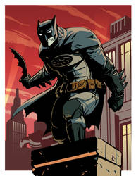 Batman Jul 2013 by Onikaizer