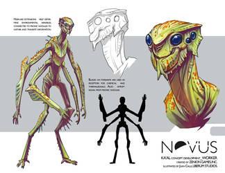 Ka'al-concepts-scout by Onikaizer