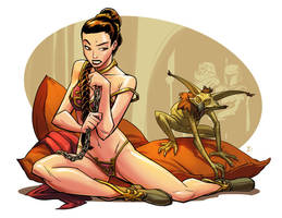 Princess Leia Slave by Onikaizer