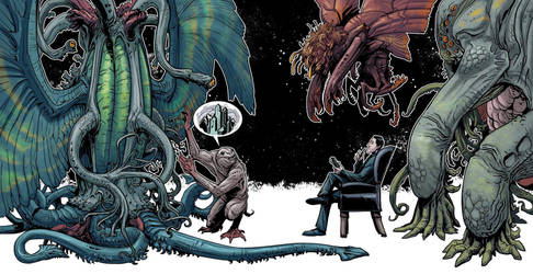 Lovecraft tribute 2014 by Onikaizer