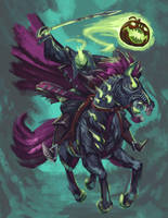Headless Horseman 2018 by Onikaizer