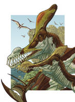 Caulkicephalus family by Onikaizer