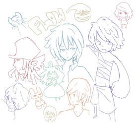 Doodles 8D by FlowingFlow