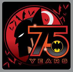 75 YEARS OF THE BAT by CHUCKAMOKK