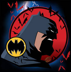 Knight From Gotham by CHUCKAMOKK
