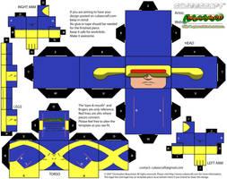 Cyclops - X-Terminators uniform by MysterMDD
