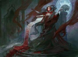 Blood Scrivener by PeteMohrbacher